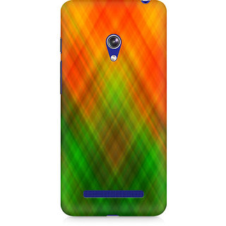 CopyCatz Abstract Rainbow Fusion Premium Printed Case For Asus Zenfone 5