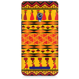 CopyCatz Colorful Lady Premium Printed Case For Asus Zenfone 5