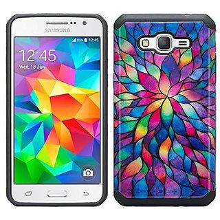 CopyCatz Cheveron Shades of Grey Premium Printed Case For Samsung J7