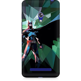 CopyCatz Batman Abstract Scream Premium Printed Case For Asus Zenfone 5