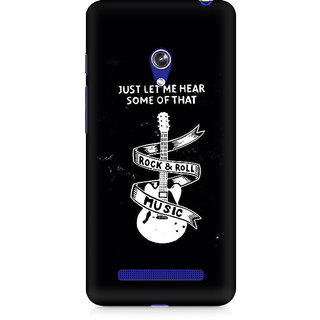 CopyCatz Rock And Roll Premium Printed Case For Asus Zenfone Go