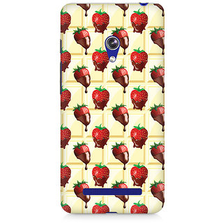 CopyCatz Strawberry Dip Premium Printed Case For Asus Zenfone 5