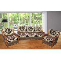 JBG Home Store Luxury Brown Sofa Cover Set ( Set Of 10) [CLONE]