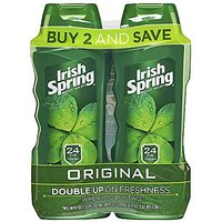 Irish Spring Body Wash, Original, 2 Count