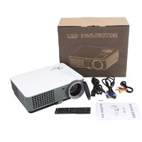 IBS 2200 Lumens Mini Led Rd-801 Smart Lcd Video Home Theater 1080P Movie Player 50000/60000 Hours Life 5 Inch Displays S