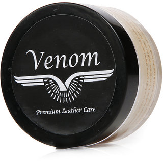 Venom Natural All Colour Leather Shoe Cream