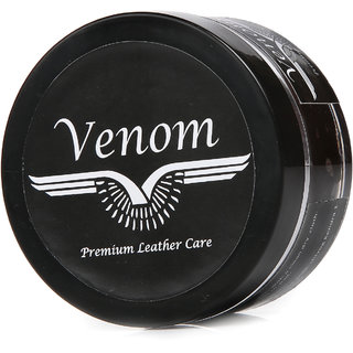 Venom Brown Leather Shoe Cream