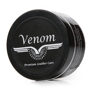Venom Black Leather Shoe Cream
