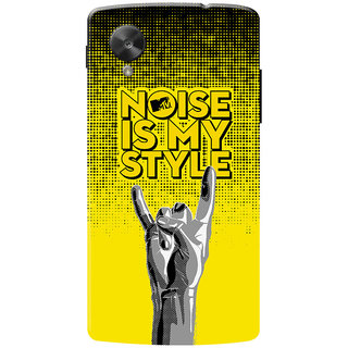 MTV Gone Case Mobile Cover For LG Nexus 5