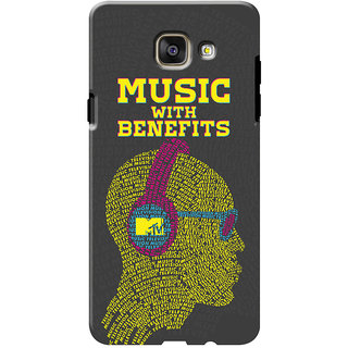 MTV Gone Case Mobile Cover For Samsung Galaxy A7 (2016)