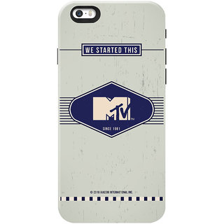 MTV Gone Case Mobile Cover For Apple Iphone 5S