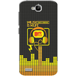 MTV Gone Case Mobile Cover For Huawei Honor Holly