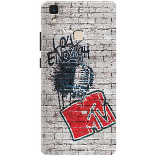 MTV Gone Case Mobile Cover For VIVO V3