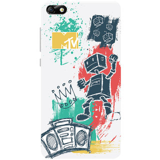 MTV Gone Case Mobile Cover For Huawei Honor 4X