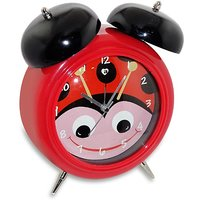 Archies Red Alarm Table Clock