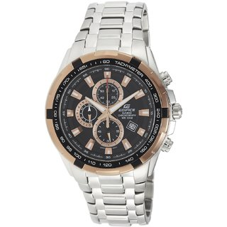 Casio Edifice EF 539D Copper Ring Chronograph Watch