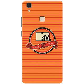 MTV Gone Case Mobile Cover For VIVO V3 Max
