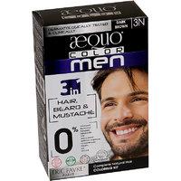 Aequo Color Men 3N Dark Brown Organic Hair Colour Kit - 160ml