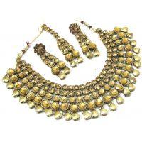 Charming Kundan Necklace Set