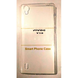 AR ACCESSORIES TRANSPARENT BACK COVER FOR VIVO Y 15