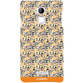 Snapdilla Trendy Artistic Cubes Pattern Stylish Looking Colorful Latest Designer Case For Coolpad Note 3