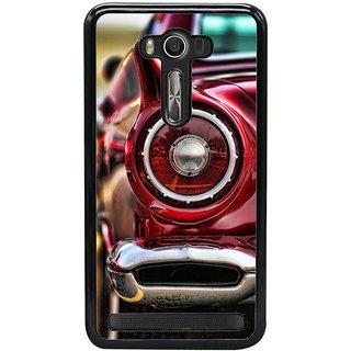 Fuson Designer Back Case Cover For Asus Zenfone 2 Laser ZE550KL (Red Red Car Red Sports Car Stunning Car Race Car)