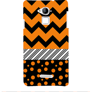 Snapdilla Black Background Multi Pattern Different Cool Simple Unique 3D Print Cover For Coolpad Note 3