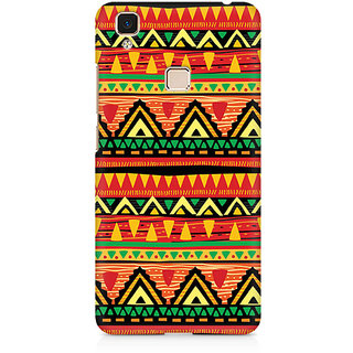 CopyCatz Tribal Geometric Premium Printed Case For Vivo V3 Max