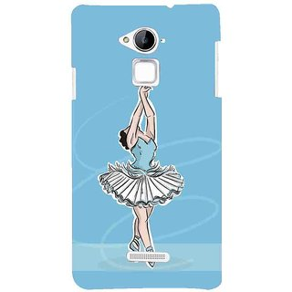 Snapdilla Sexy Beautiful Girl Artistic Ballet Dance Form Modern Painting Blue Color Mobile Case For Coolpad Note 3