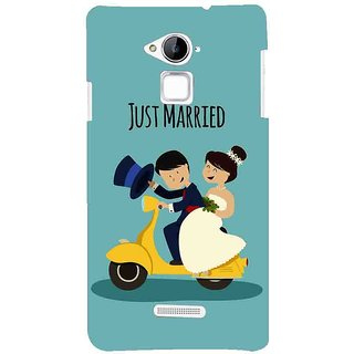 Snapdilla Newly Married Honeymoon First Gift Just Married Quote Wedding Mobile Pouch For Coolpad Note 3