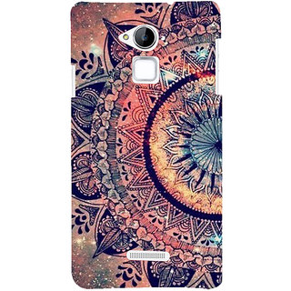 Snapdilla Colorful Sci-Fi Artistic Pattern Awesome Multi Color Rangoli Phone Case For Coolpad Note 3