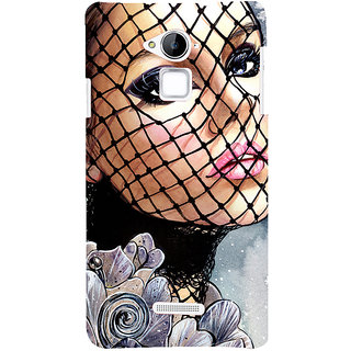 Snapdilla Unique Colorful Page 3 Trend Setting Blonde Girl Painting Mobile Cover For Coolpad Note 3