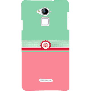 Snapdilla Green  Pink Color Background Adorable Cute Little Owl Mobile Cover For Coolpad Note 3
