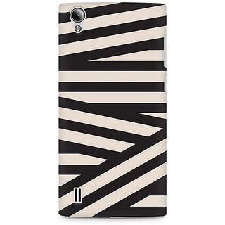 CopyCatz Connected Triangles Premium Printed Case For Vivo Y15