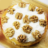 White Chocolate Walnut Cake