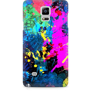 CopyCatz Artful Splatter Premium Printed Case For Samsung Note 4 N9108
