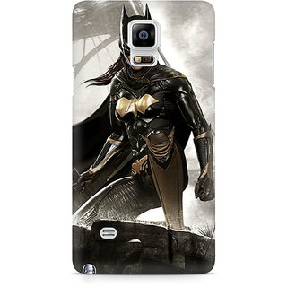CopyCatz Batgirl Arkham City Premium Printed Case For Samsung Note 4 N9108