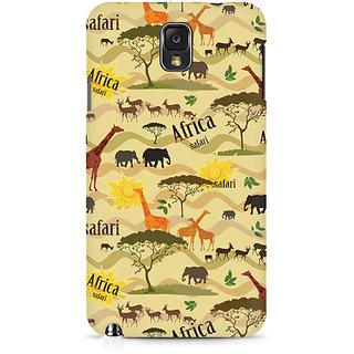 CopyCatz African Safari Premium Printed Case For Samsung Note 3 N9006
