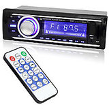 Sky Tech Car Stereo MP3 Player FM USB MMC SD Card MP3 AUX Player with tweeters