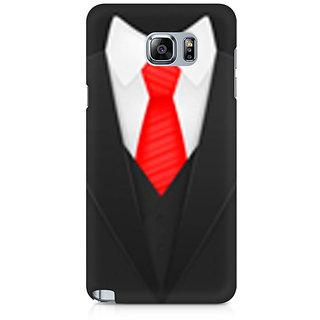 CopyCatz Elegant Suit Premium Printed Case For Samsung Note 5