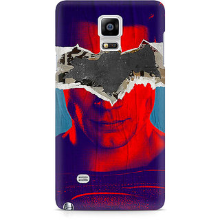 CopyCatz Superman With Batman Logo Premium Printed Case For Samsung Note 4 N9108