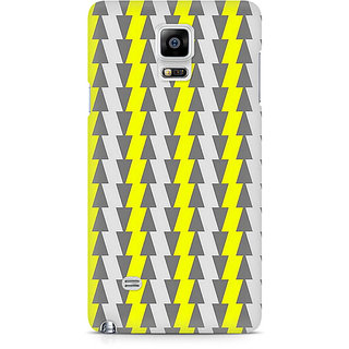 CopyCatz Yellow And White Cards Premium Printed Case For Samsung Note 4 N9108