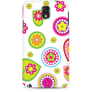 CopyCatz Ethnic Hearts Premium Printed Case For Samsung Note 3 N9006