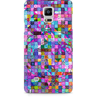 CopyCatz Sharpie Doodle Premium Printed Case For Samsung Note 4 N9108