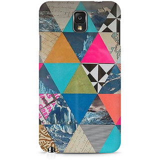 CopyCatz Abstract Fusion Hex Premium Printed Case For Samsung Note 3 N9006
