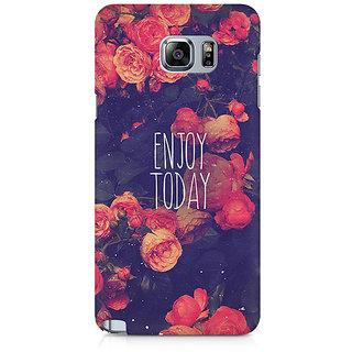 CopyCatz Enjoy Today Premium Printed Case For Samsung Note 5