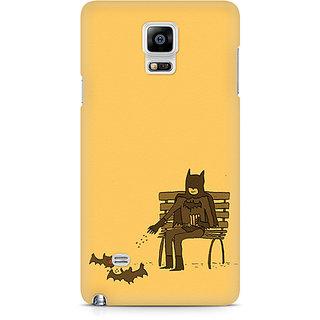 CopyCatz Minimalist Batman Feeding Bats Premium Printed Case For Samsung Note 4 N9108