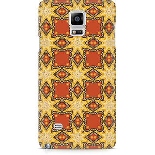 CopyCatz Tribal Geometric Premium Printed Case For Samsung Note 4 N9108
