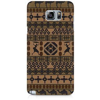 CopyCatz African Impulse Premium Printed Case For Samsung Note 5