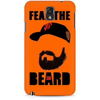 CopyCatz Fear The Beard Bud Premium Printed Case For Samsung Note 3 N9006